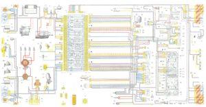 Схема электрооборудования ваз 2107 немногим отличается от схемы ВАЗ 2105.
