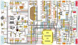 Электроника аналогичны на автомобилях ваз 2114, пятнадцатой модели и Лада Самара 2.