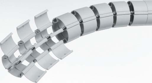 Гибкий кабель канал для проводов