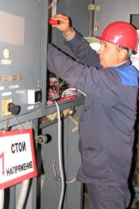 Безопасность оперативного персонала при проведении ремонта