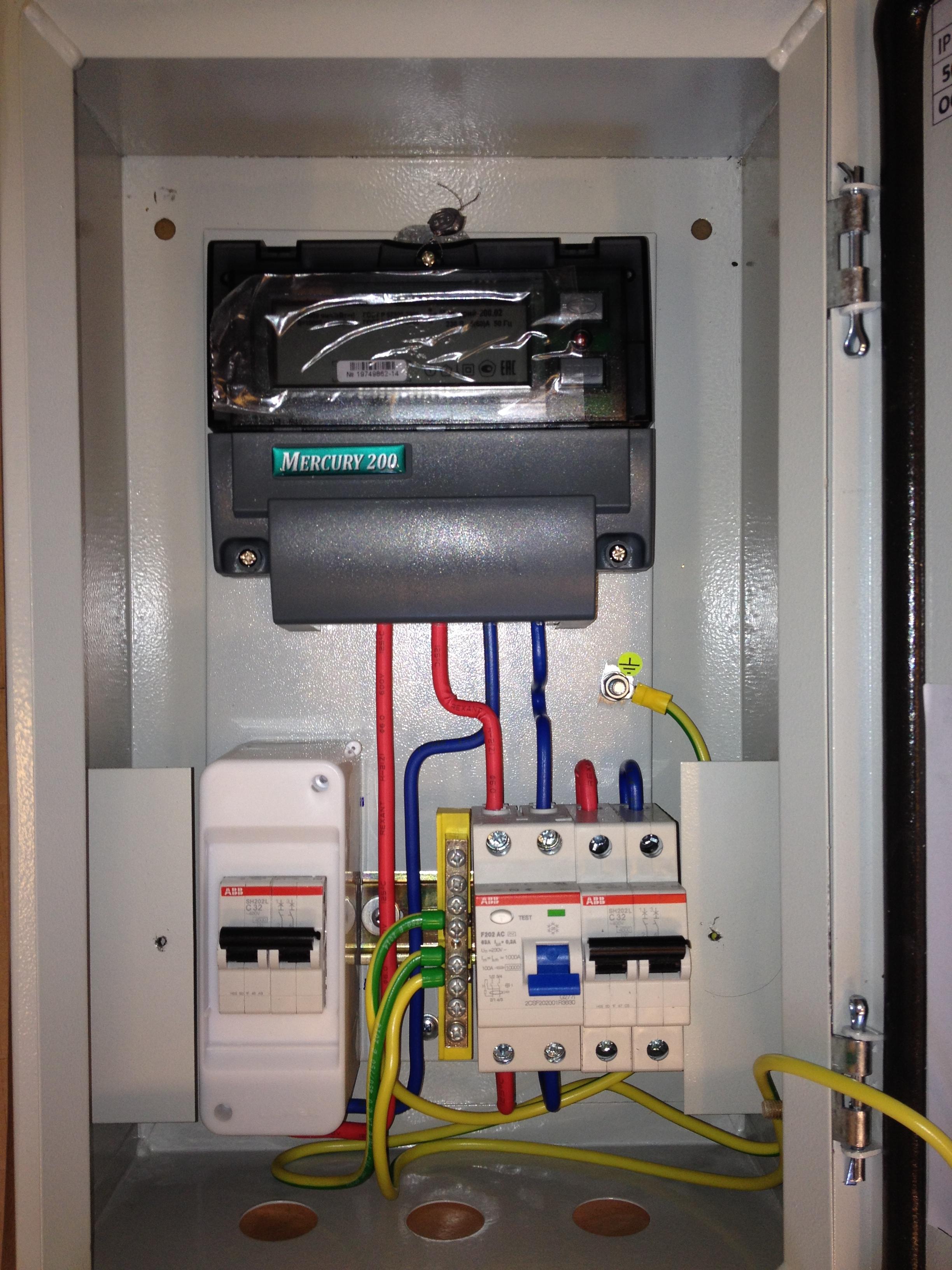 Силовой кабель в квартире